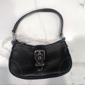 Coach Hamptons bag in black